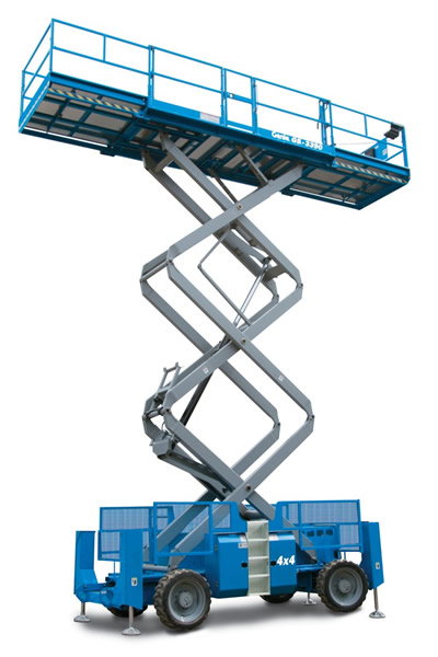 Genie GS-3390 RT Self Propelled Scissor Lift
