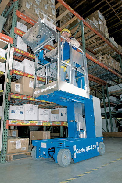 Genie QS-12 Quickstock Personnel Lift