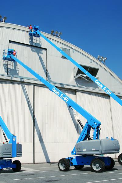 Genie S60 Telescopic Boom Lift