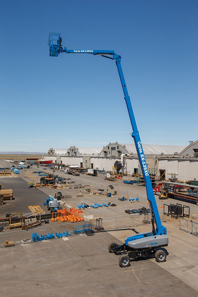 Genie S135 Telescopic Boom Lift