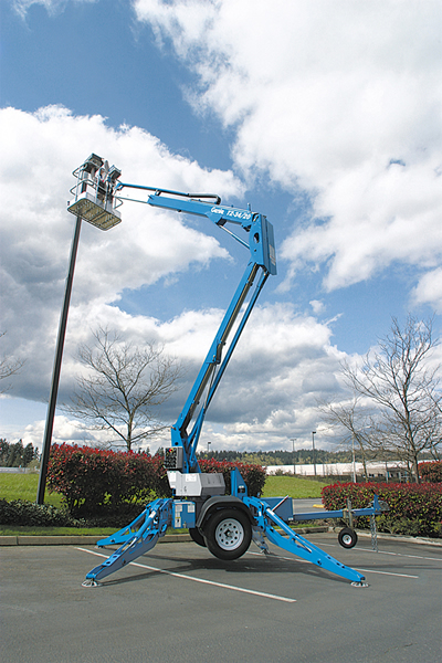 Genie TZ-34/20 Trailer Mounted Lift