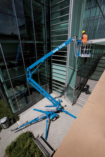 Genie TZ-50 Trailer Mounted Lift