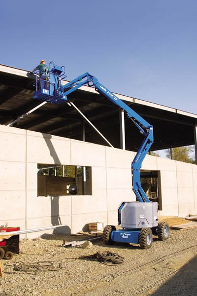 Genie Z3422 IC Diesel Articulating Boom Lift