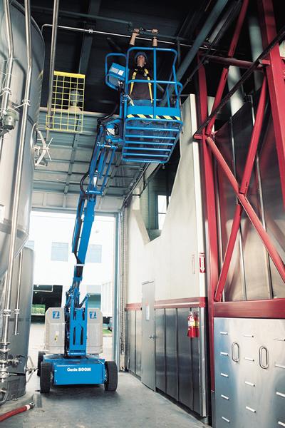 Genie Z3422N Narrow Articulating Boom Lift