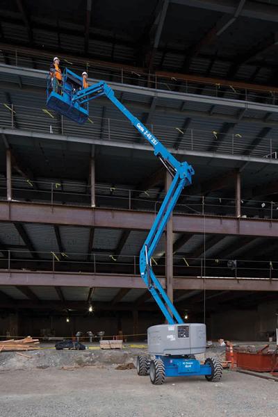 Genie Z4525 RT Diesel Articulating Boom Lift