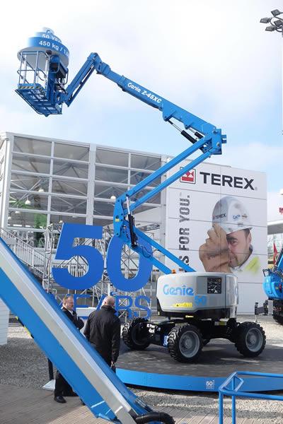 Genie Z45 XC Diesel Articulating Boom Lift