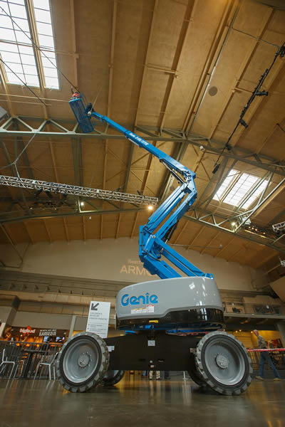 Genie Z60 FE Bi Energy Articulating Boom Lift