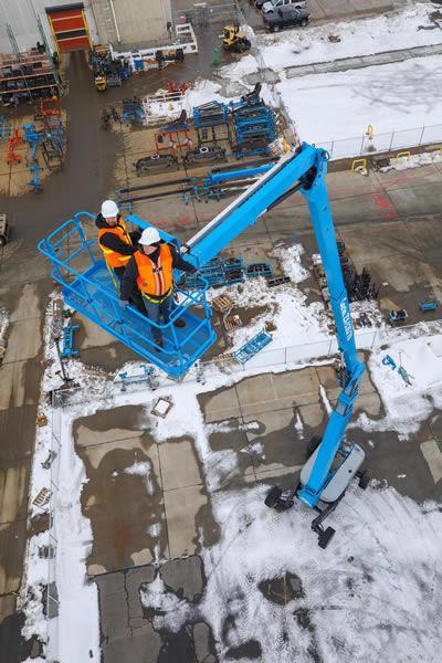 Genie ZX135 Diesel Articulating Boom Lift