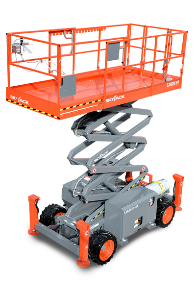 Skyjack 6826 / 32 RT Rough Terrain Scissor Lift