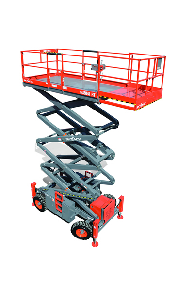 Skyjack 8831 / 41 RT Rough Terrain Scissor Lift