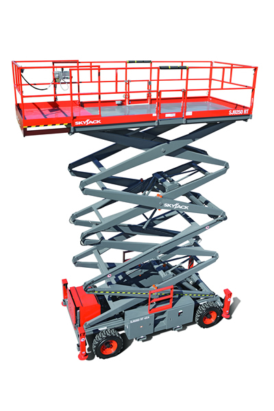 Skyjack 9250 RT Rough Terrain Scissor Lift