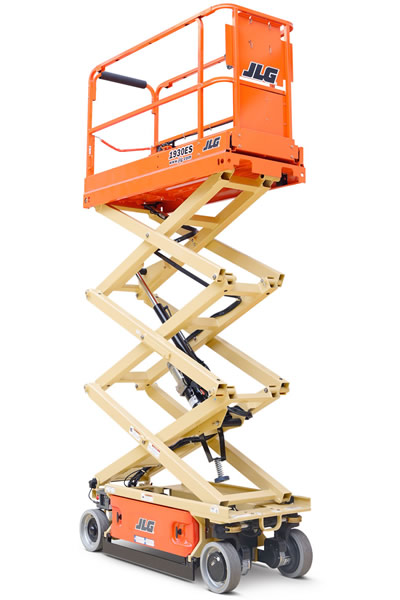 JLG 1930 electric scissor lift hire
